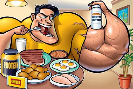Питание для быстрого набора мышечной массы