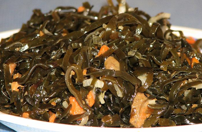 Морская капуста содержит йод