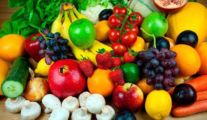 Продукты содержащие витамины и минералы
