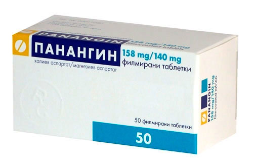 Панангин препарат содержащий калий