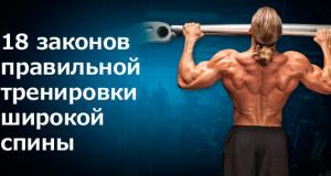 18 законов правильной тренировки спины от капурсо