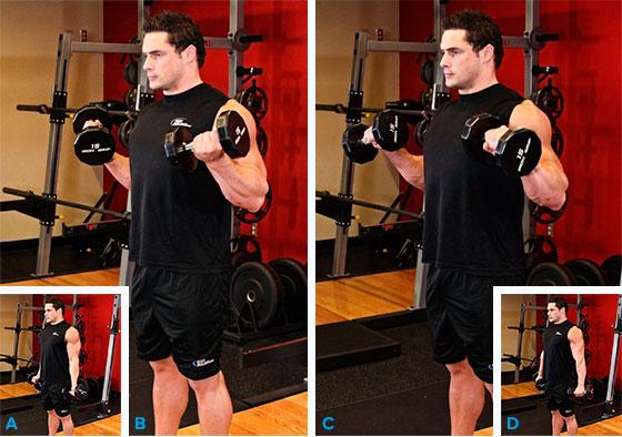 Бицепс упражнения