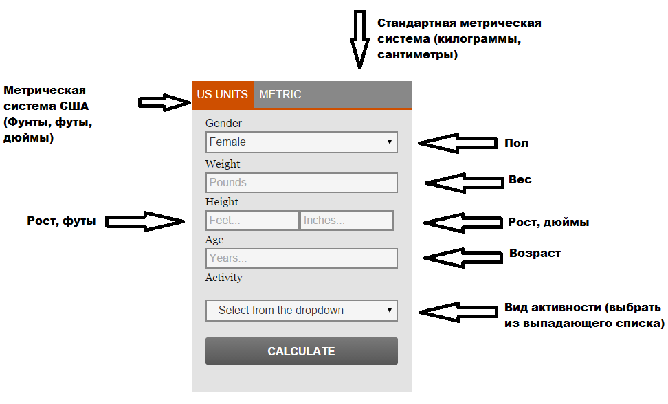 Перевод кнопок калькулятора фото