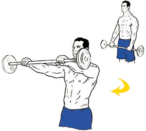 barbell-front-raise