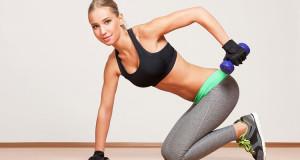 Упражнение на трицепс для девушек