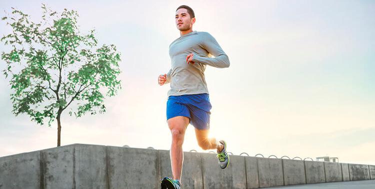 Интенсивный бег для похудения