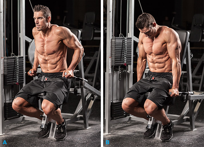 Комплекс упражнений на трицепс