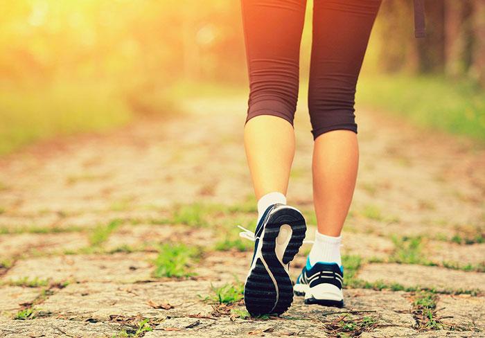 Ходьба для похудения живота и боков
