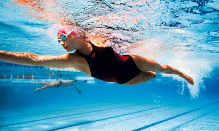 Плавание для похудения живота и боков