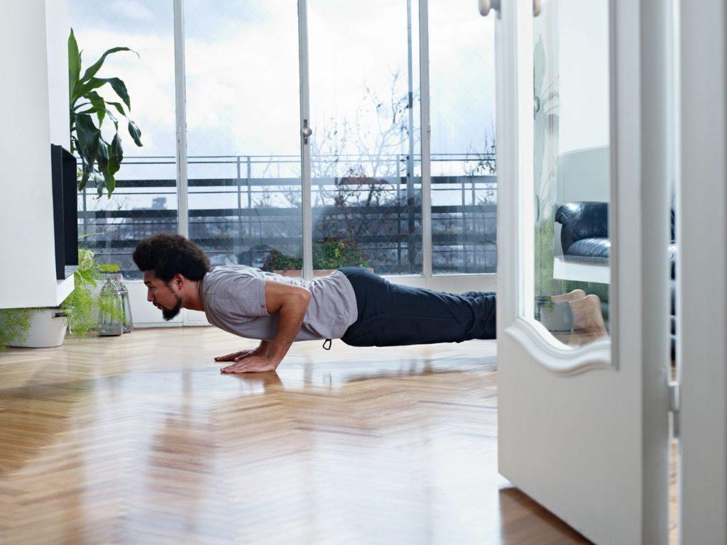 Кроссфит тренировки дома