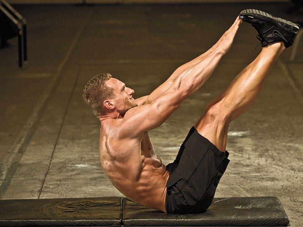 Упражнение с собственным весом тела