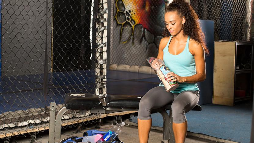 что есть после тренировки чтобы похудеть вечером