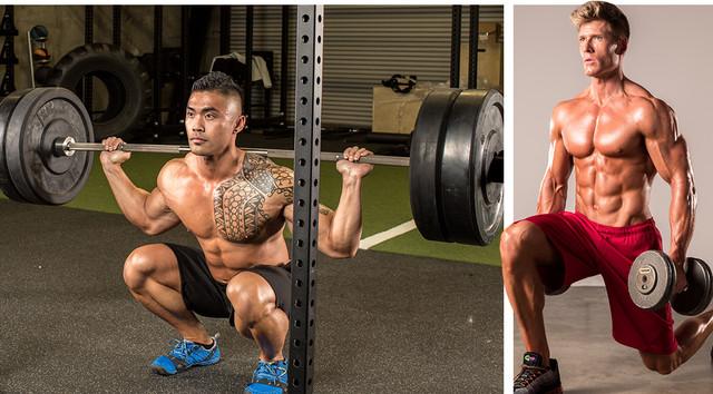Упражнения для набора массы ног