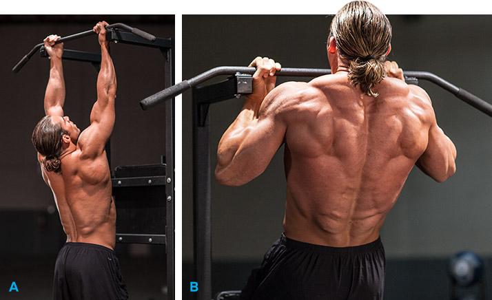 Упражнение для набора массы спины