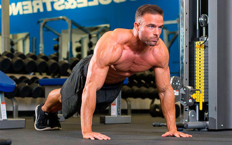 Тренировка с весом тела