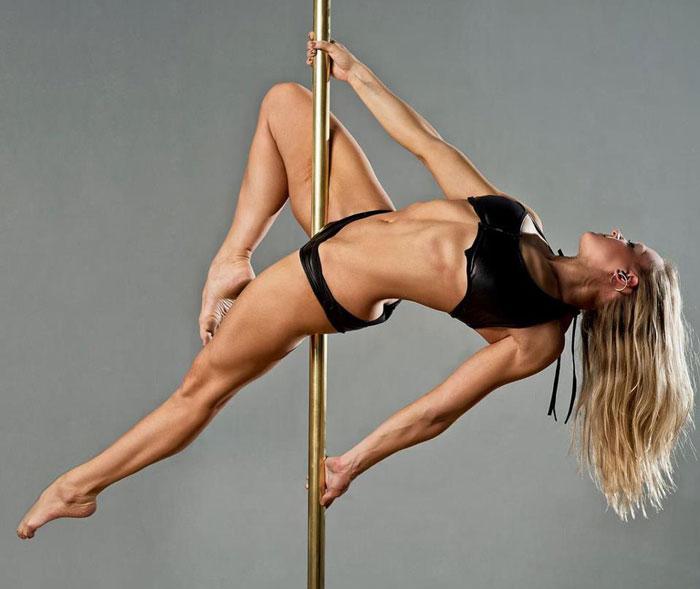 Секрет безупречной внешности: грациозный танец pole dance