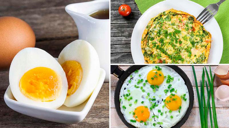 Как можно приготовить яйца