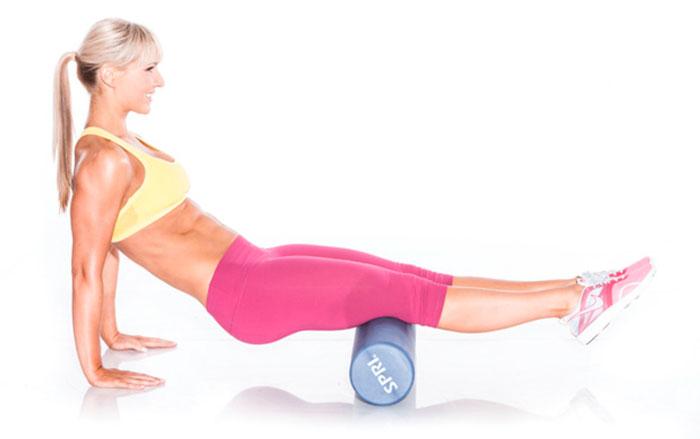 Упражнение на подколенные мышцы и ягодицы