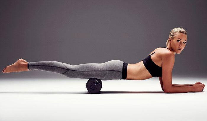 Упражнения с ортопедическим валиком