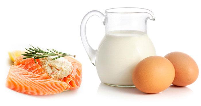 Продукты с витамино D