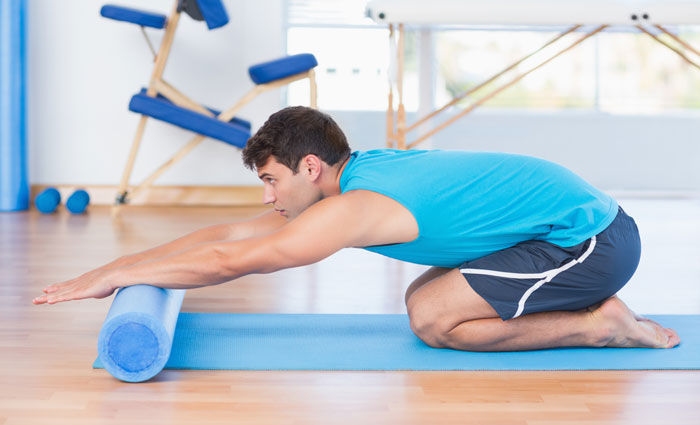 Упражнение для раскрытия верхнего отдела спины
