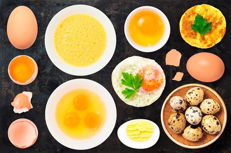 Калорийность и питательная ценность яиц