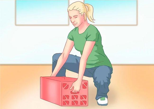 Подъем корзины для тренировки спины