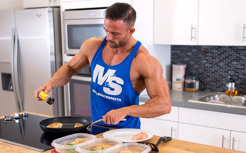 Сбалансированное питание для роста мышц