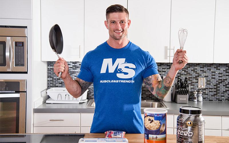 Как питаться мужчинам для роста мышц
