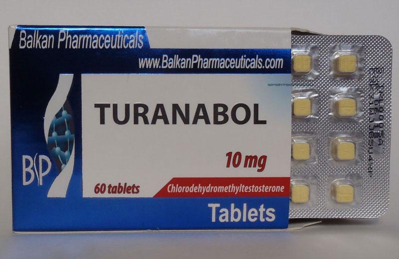 Пачка Туринабола в таблетках