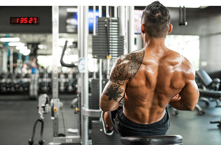 Тяга блока для широчайших мышц