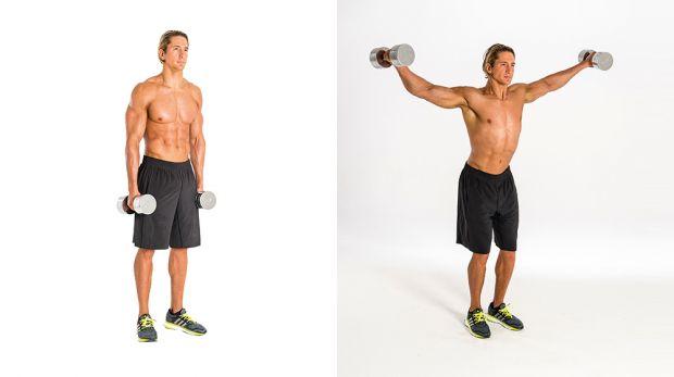 Упражнения с гантелями мужчинам для начинающих thumbnail