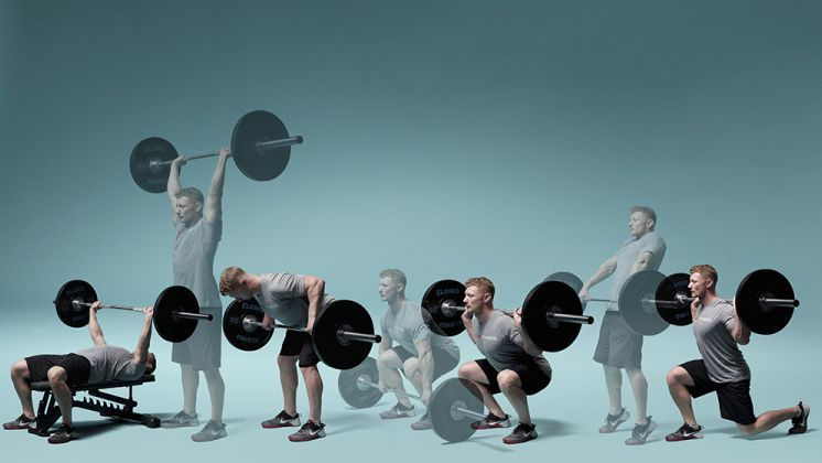 Лучшие упражнения для мышц спины базовые со штангой на мяче и тренажерах
