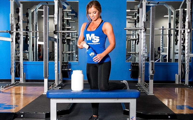 Выбор спортивного питания для роста мышц