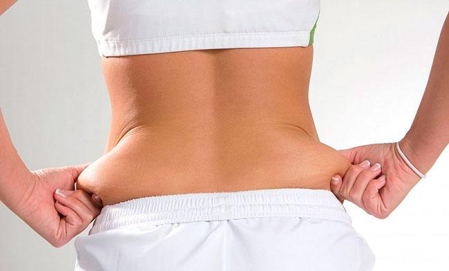 Убрать жир с талии