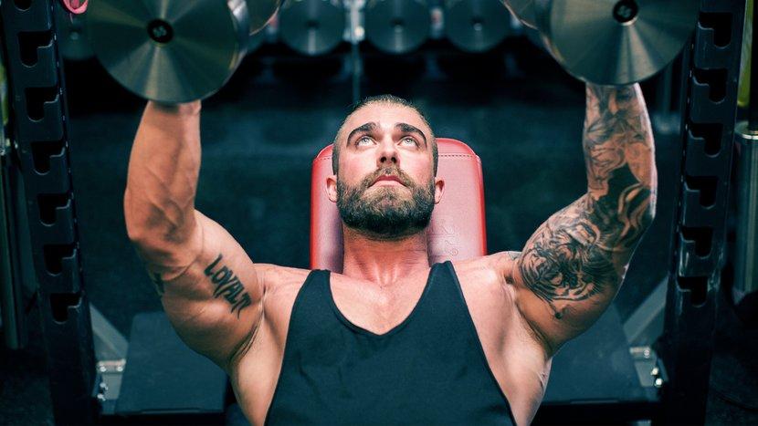 Программа тренировок на грудь на 8 недель в тренажерном зале для мужчин, чтобы накачать грудные мышцы на массу
