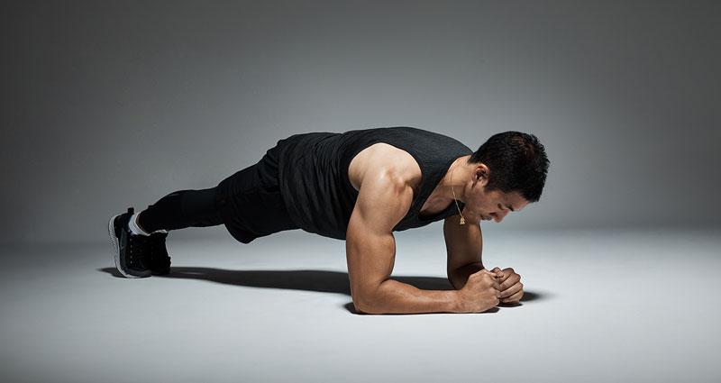 Техника упражнения планка