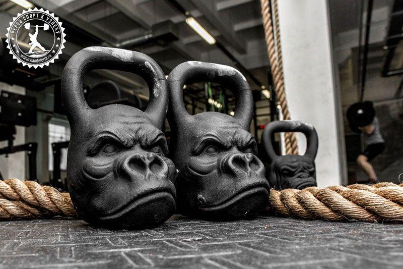 Комплексные упражнения с гирей
