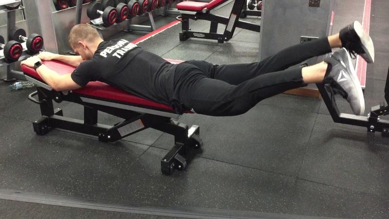 Упражнение гиперэкстензия I Техника выполнения