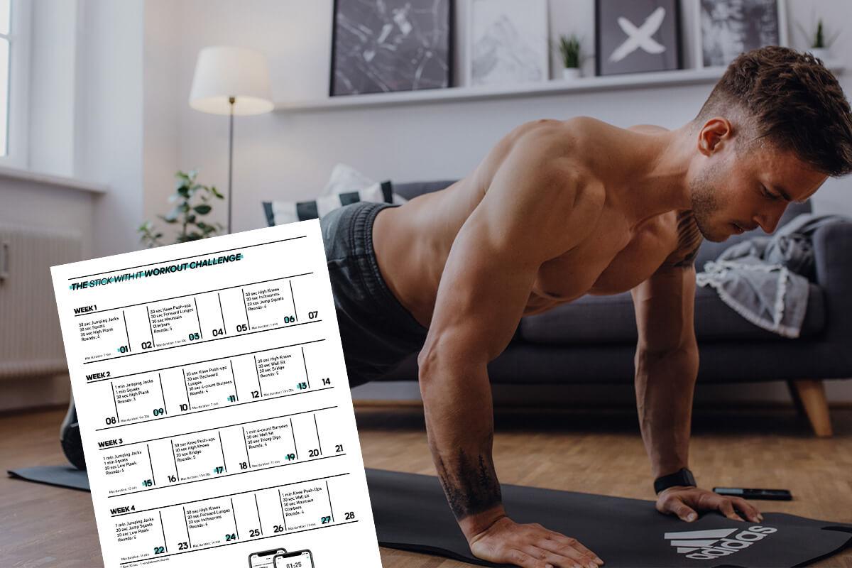 Программа тренировок дома для мужчин