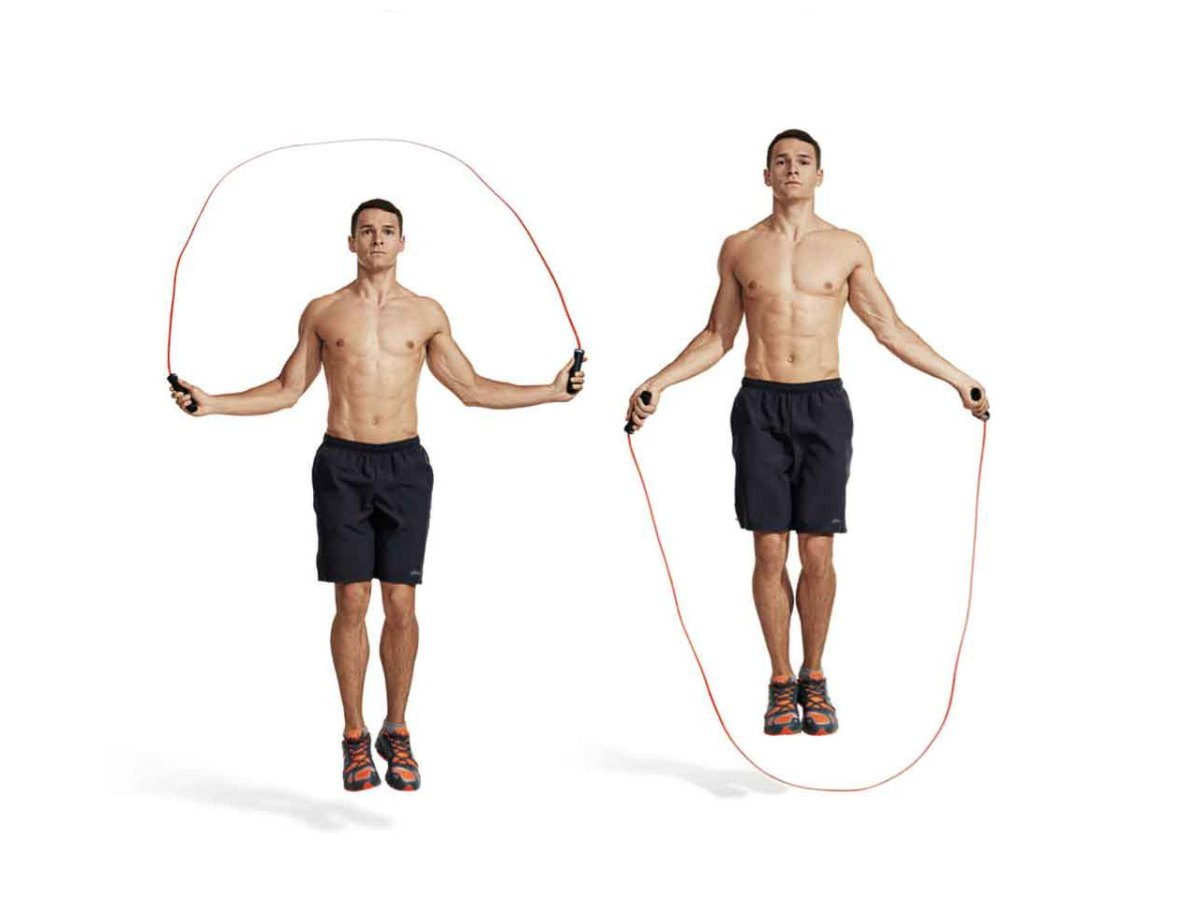 Прыжки на скакалке для похудения техника